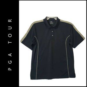 PGA Tour Men Short Sleeve Career Formal Polo Shirt